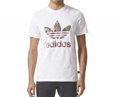 Adidas x Pharrell Williams HU Hiking Camo Trefoil Tee