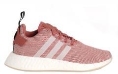 Adidas Womens NMD_R2 Ash Pink / Crystal White
