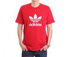 Adidas Originals Trefoil Tee Scarlet