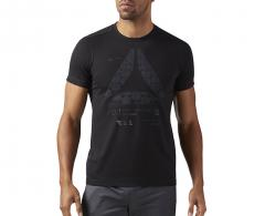 Reebok Speedwick Graphic Tee Black