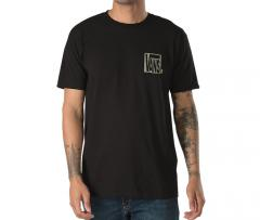 Vans New Checker Tee Black