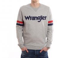 Wrangler Logo Sweatshirt Grey Melange