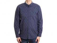 Makia Anchors Shirt Navy / White