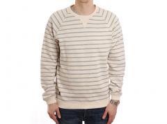 Makia Breakwater Sweatshirt Ecru / Navy