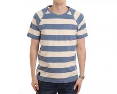 Makia Keel Tee Blue / White