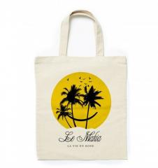 Makia Island Life Tote Bag Ecru