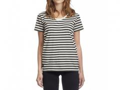 Makia Womens Verkstad Tee Black / White