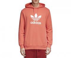 Adidas Originals Trefoil Hoodie Trace Scarlet