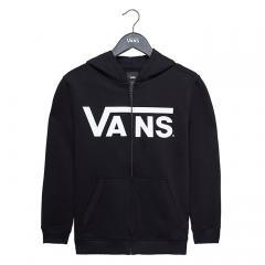 Vans Youth Classic Zip Hoodie Black / White