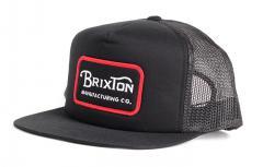 Brixton Grade Mesh Cap Black