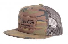 Brixton Grade Mesh Cap Camo