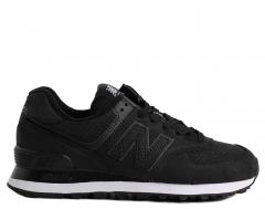 New Balance Womens 574 Serpent Luxe Black