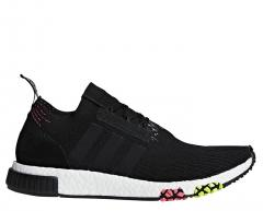 Adidas NMD_Racer Primeknit Core Black / Solar Pink