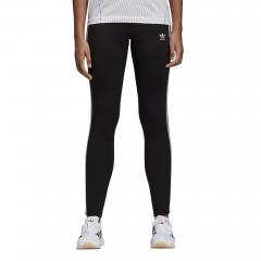 Adidas Womens 3 Stripes Leggings Black