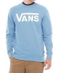 Vans Classic Crew Sweatshirt Copen Blue Heather / White