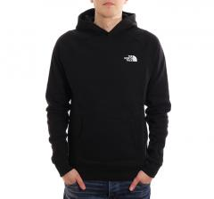 The North Face Raglan Redbox Hoodie TNF Black
