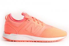 New Balance Womens 247 Classic Coral / White
