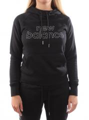 New Balance Womens Essentials Pullover Hoodie Black