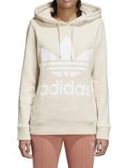 Adidas Womens Trefoil Hoodie Linen