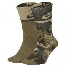 Nike SB Energy Crew Sock Camo 2-Pack