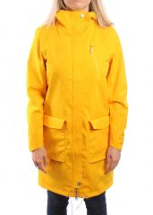 Wear Colour Womens Gust Parka Old Gold