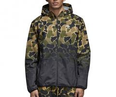 Adidas Camouflage Windbreaker