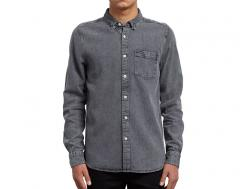 Volcom Glassic Long Sleeve Shirt Grey