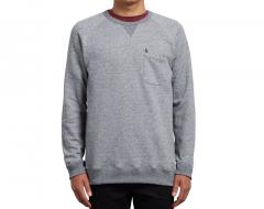 Volcom Shelden Crew Sweatshirt Grey