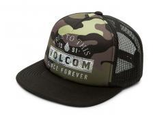 Volcom Don't Even Trip Hat Dark Camo