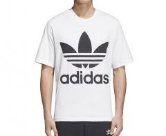 Adidas Originals Trefoil Oversize Tee White