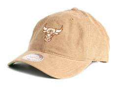Mitchell & Ness Workmens Strapback Chicago Bulls Tan