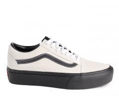 Vans Old Skool Platform Blanc De Blanc / Black