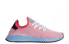 Adidas Deerupt Runner Solar Red / Bluebird