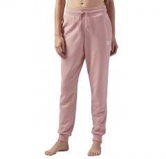 Reebok Womens French Terry Jogger Pant Chalk Pink