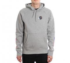 Nike SB Icon Hoodie GFX Dark Grey Heather / White