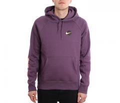 Nike SB Icon Hoodie GFX Pro Purple / White