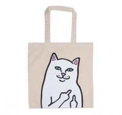 RIPNDIP Lord Nermal Tote Bag Natural Canvas