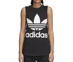 Adidas Womens Trefoil Tank Top Black