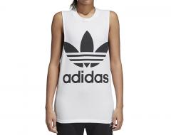 Adidas Womens Trefoil Tank Top White / Black
