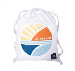 Asenne Retro Gym Bag White