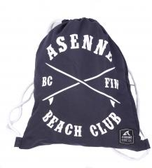 Asenne Beach Club Gym Bag Navy Blue