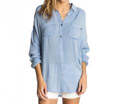 Rip Curl Womens Coolangatta Shirt Light Blue
