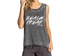 Rip Curl Womens Beach Freak Tank Top Black