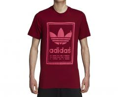 Adidas Originals Vintage Tee Collegiate Burgundy