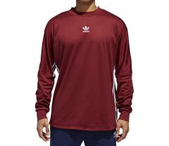 Adidas Authentics Longsleeve Goalie Shirt Noble Maroon / White