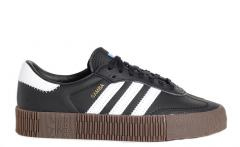 Adidas Womens Sambarose Core Black / Cloud White / Gum