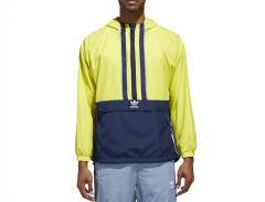 Adidas Authentics Windbreaker Shock Yellow / Collegiate Navy