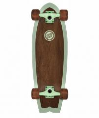 Santa Cruzer Classico Shark Brown / Green