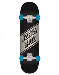 Santa Cruz Complete Street Skate Black 8.25