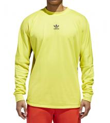 Adidas Authentics Longsleeve Goalie Shirt Shock Yellow / Collegiate Navy